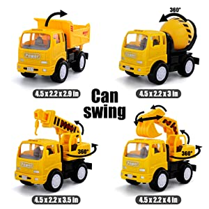 Transforming Construction Toys         Pull Back Car         Engineering Vehicle