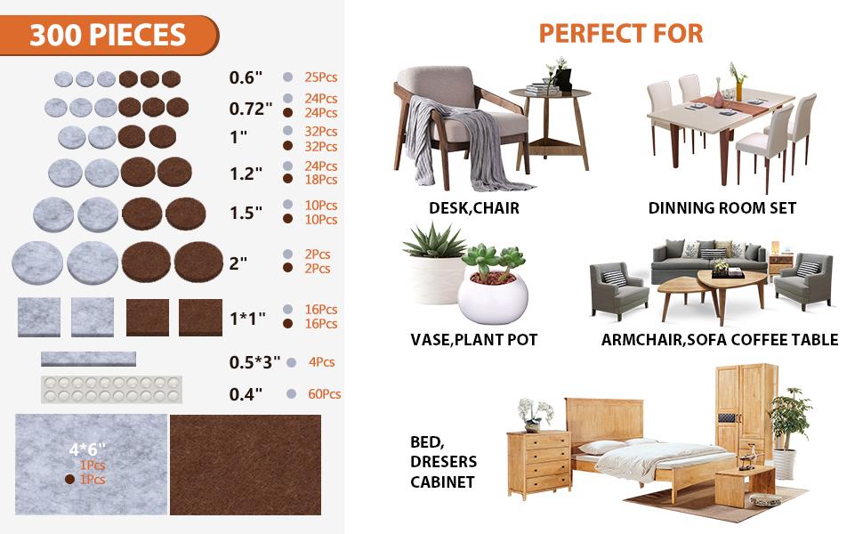 BAIPOK Furniture Pads