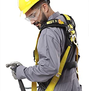 kolossus workwear coverall for men action back