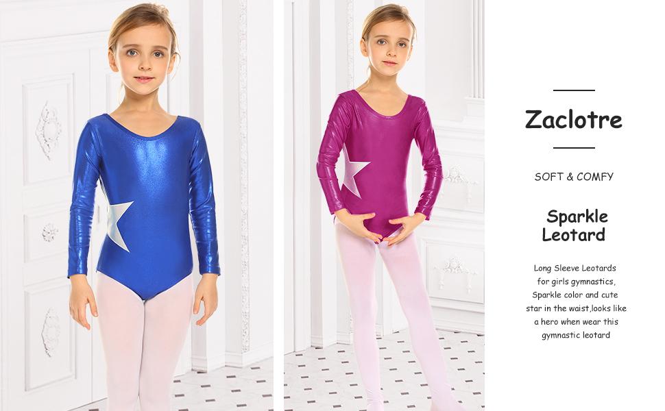 Ballet Leotard.Pink Cross Strap.Age 3-10 Years.Gymnastic Dance Uniform.Fast UK