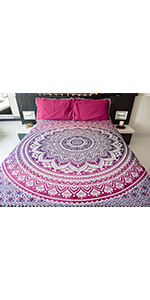 queen blanket, mandala tapestry, cute room decor for teen girls, trippy room decor, bed spreads