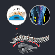 posture corrector vehicle back support lumbar support car elastic posture corrector back sitting