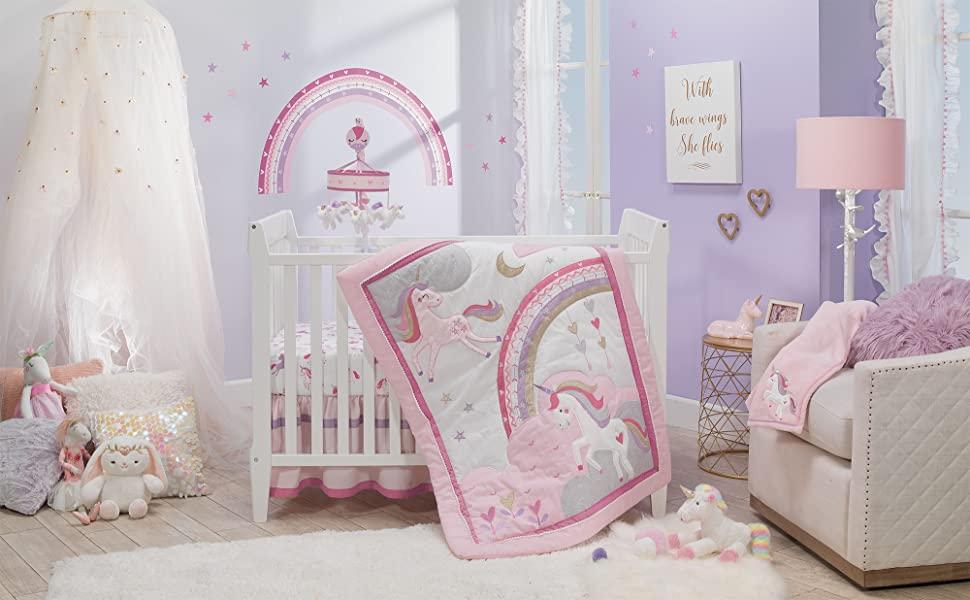 Magic Unicorn Nursery with Plush