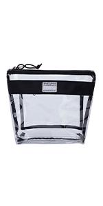 rough enough clear toiletry bag tsa approved bag wash bag cosmetic bag makeup organizer for travel