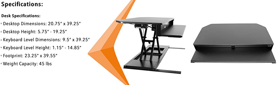 FlexPro Power Corner Electric Standing Desk, Height Adjustable Stand Steady workstation