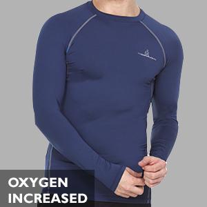 Compression Shirt Long Sleeve for Men