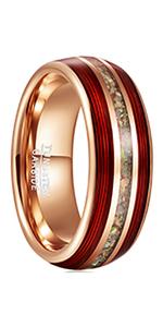 red string ring