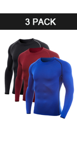 Men's Crew Neck Compression Shirt