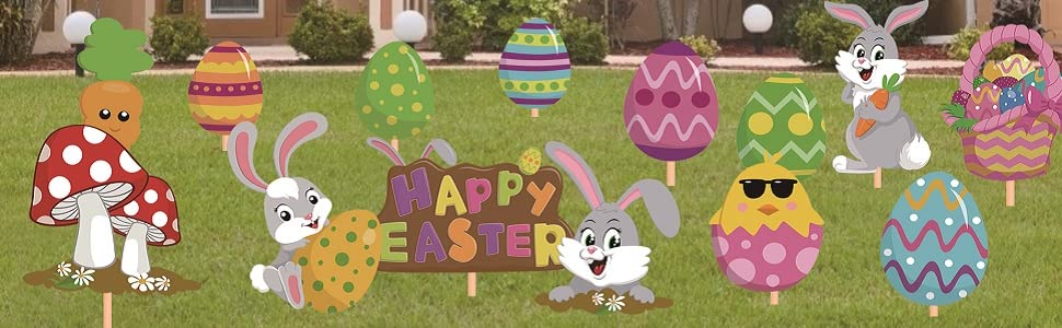 Easter Day Decorations for Your Home Yard
