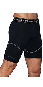 Thermajohn Men's Compression Shorts