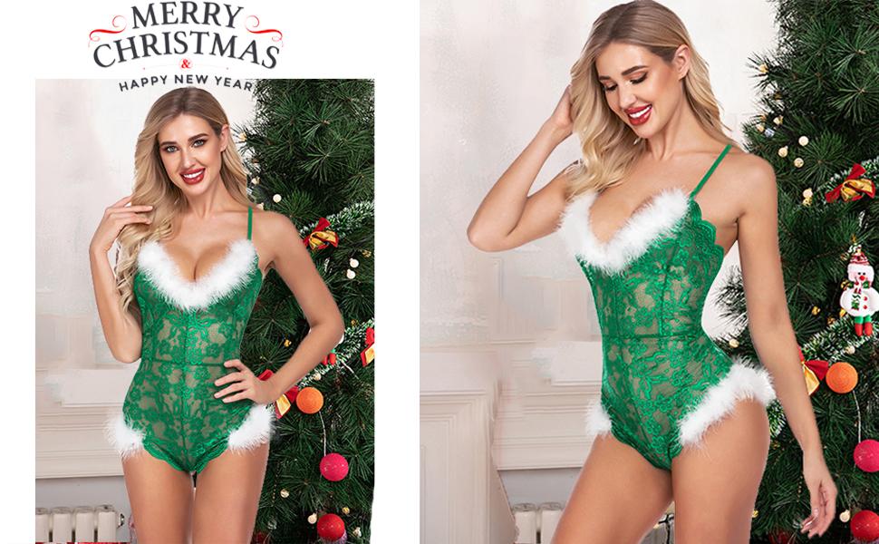 christmas lingerie for women