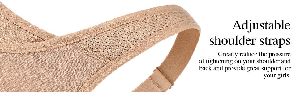 adjustable shoulder straps stretch straps good support