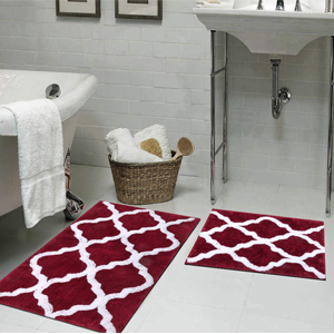 Multifunctional indoor carpet: Pauwer bath rugs are perfect for bathroom, bedroom, living room