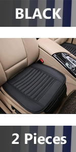 Black Car Seat Cushion