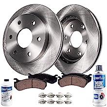 front brakes pads rotors envoy