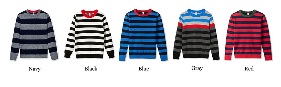 black sweater, navy sweater,blue sweater,red sweater,gray sweater