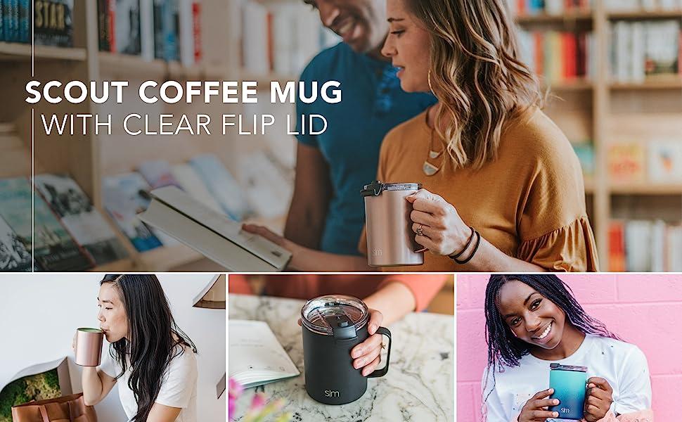 Simple Modern Scout SK Coffee Mug - Vacuum Insulated Tumbler