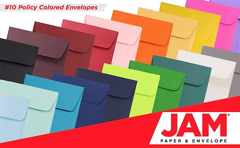 jam paper policy envelopes