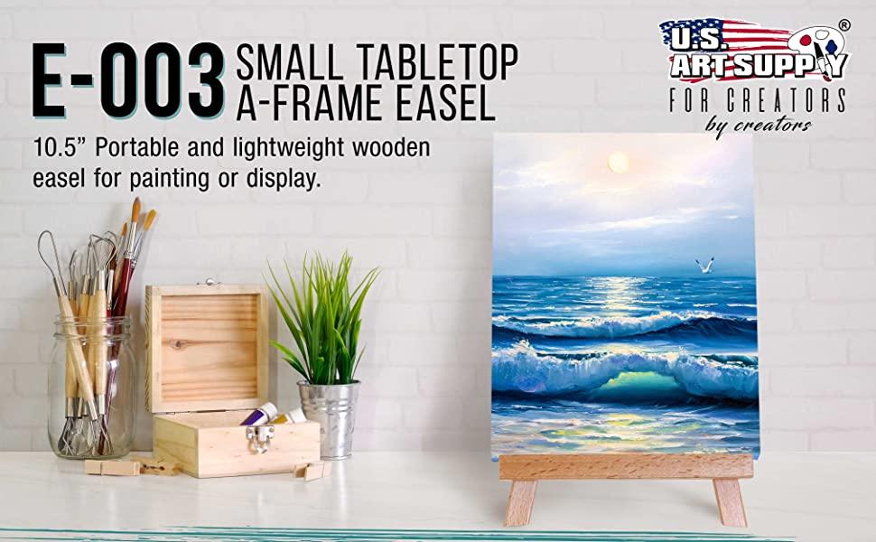 US Art supply E-003 Small Tabltop A-Frame Easel