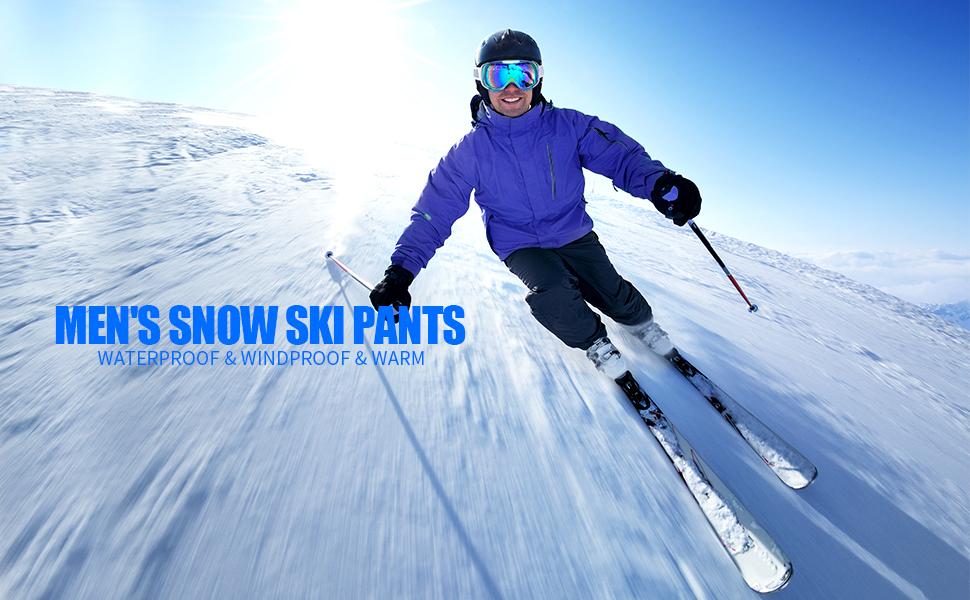 MEN'S SNOW SKI PANTS