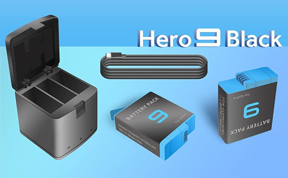 Gopro Hero 9 Black Action Camera Battery