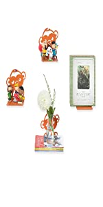 plant stand monkey stuffed Robin Hood Disney magazine holder charlie brown Peanuts book holder stand