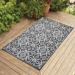 outdoor 4x6 5x7 6x9 8x10 patio jute rug carpet indoor modern entry hallway seagrass navy brown gray