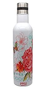wine bottle, wine lovers, steel bottle, reusable bottle, water bottle, cocktails, insulated bottle