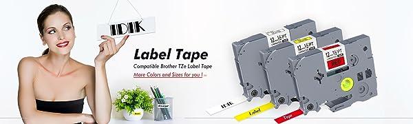 IDIK Label Tape