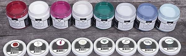 chalk paint annie sloan dixie belle heirloom htp wax furniture colors white black brown dark brush