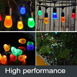 led Green Bulb string for wedding party holiday