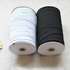sewing elastic 1 8 inch flat
