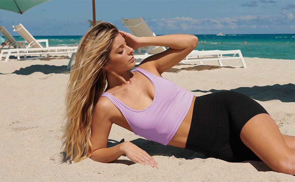sports bras for women medium impact running sports bra tank tops for women work outfits for women gy