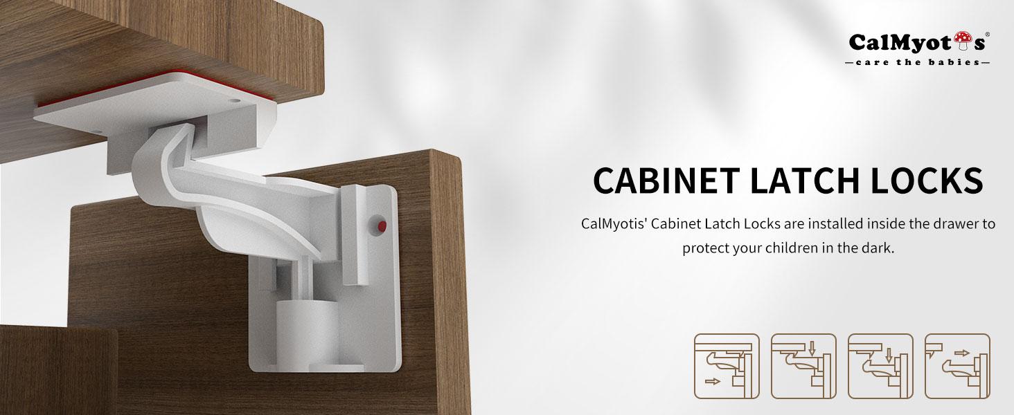 Cabinet Latch Locks