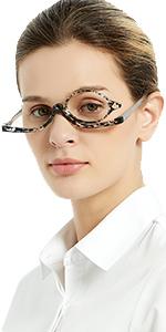 make up reading glasses
