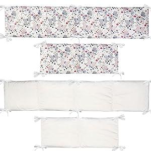 crib bumper sets for girls