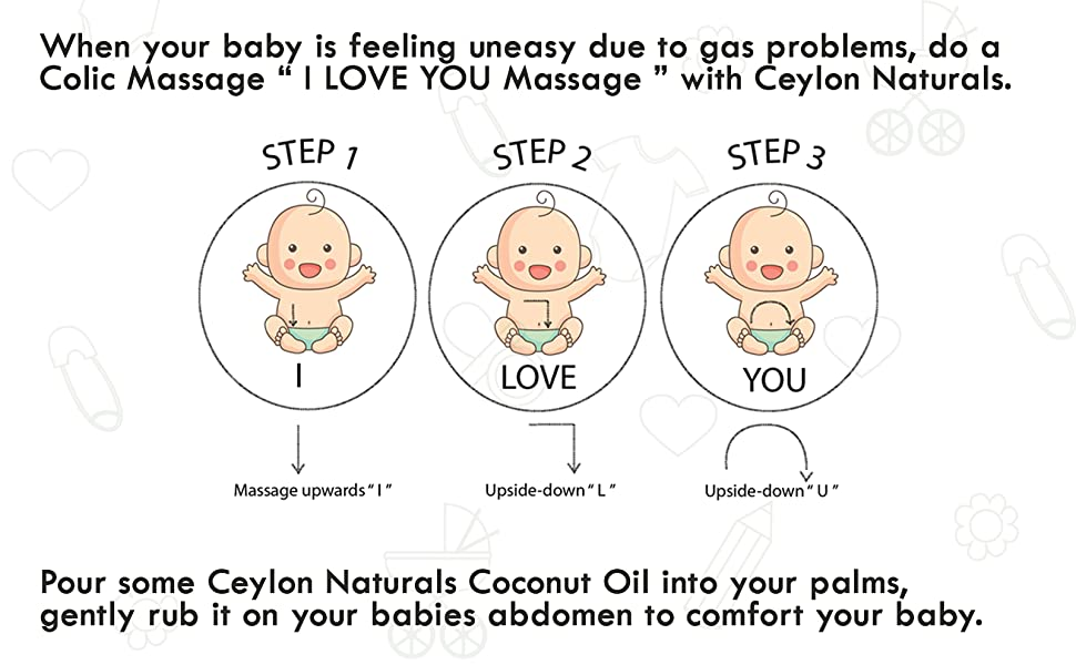 Coconut oil for baby