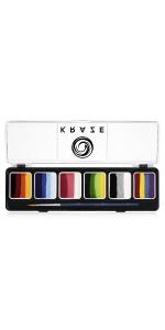 Kraze FX 6 Color Split Cake Palette