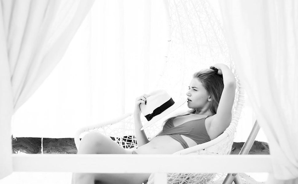 Swimsuit High Waisted Off Shoulder Ruffled Bikini Set