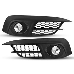 Fog Lights for 2016-2019 Honda Civic (Not fit Touring & SENS models) with H8 12V35W Blubs Fog Lamps