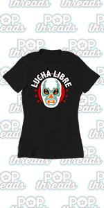 Wrestling Retro Vintage Wrestler Heel Babyface Graphic Tee T Shirt for Women