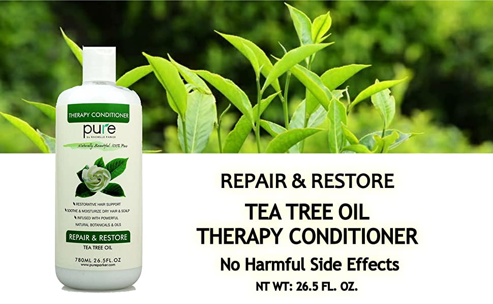 REPAIR & RESTORE    TEA TREE OIL              THERAPY CONDITIONER     NT WT: 26.5 FL. OZ.
