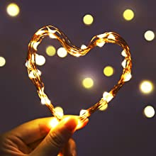 bendable mallaeable 100 led usb fairy lights copper string lights birthday party indoor patio string