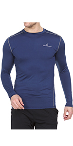 Thermajohn Men's Compression Long Sleeve