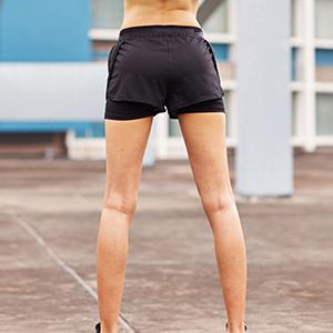 women lounge shorts