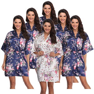 bridal party robes for women wedding