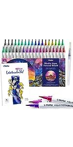 Watercolor Brush Markers Pen