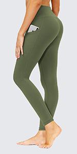 high waisted yoga pants