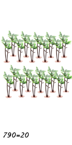 Coconut Model Trees 20-count