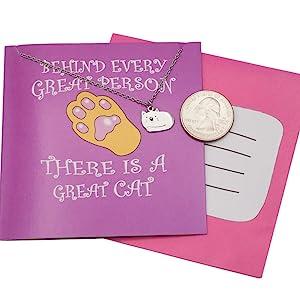 pendant gift for cat lovers